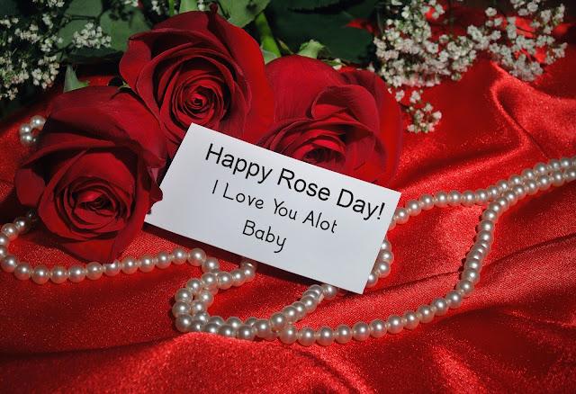 Happy Rose Day  Love