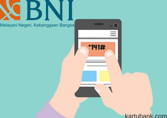 Gambar ilustrasi sms banking bni