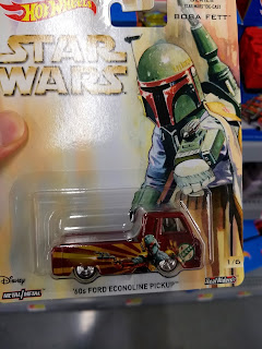 Hot Wheels Pop Culture Star Wars Boba Fett '60's Ford Econoline Pickup