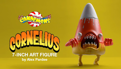 Kidrobot Exclusive Candemons Cornelius Melty Metallic Edition Vinyl Figure by Alex Pardee x 3DRetro