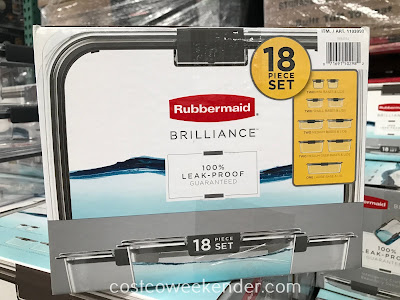 Costco 1103099 - Take lunch to work with the Rubbermaid Brilliance Food Storage Set
