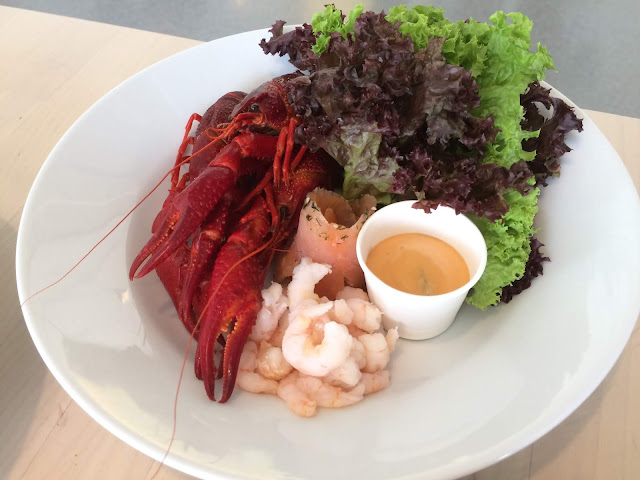 Crayfish Seafood Platter