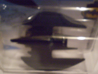 Close up of Hot Wheels 2020 Batplane