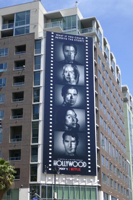Hollywood Netflix series billboard