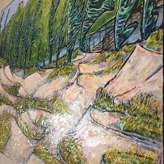 copyright, Robin Baratta, Through the Dunes, detail