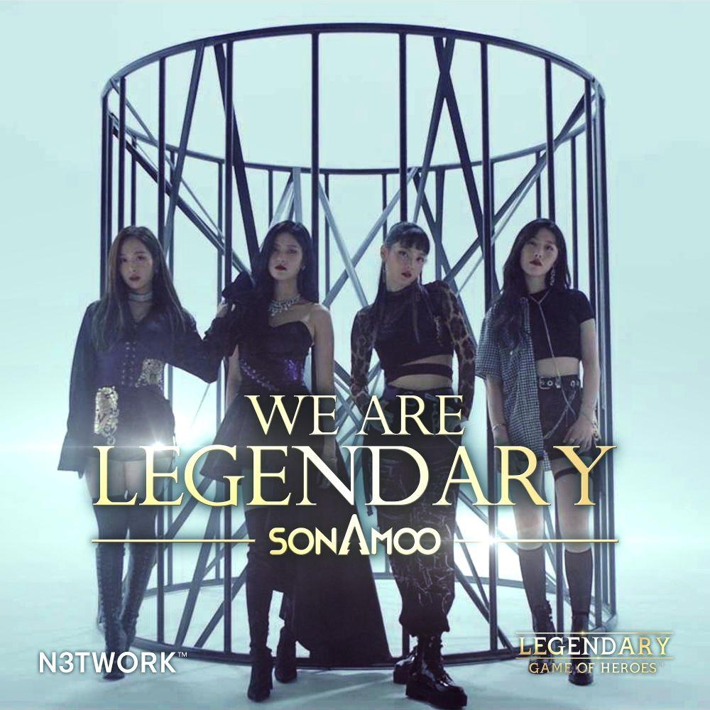 SONAMOO – WE ARE LEGENDARY – Single
