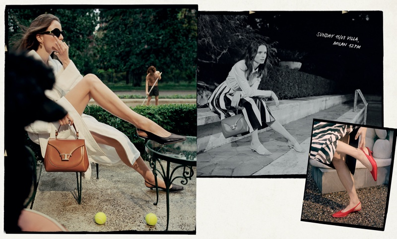 Tod's Spring/Summer 2020 Campaign starring Anna de Rijk