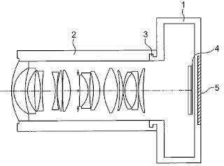 Схема объектива Olympus для беззеркальной полнокадровой камеры
