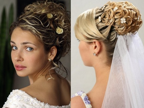 Top 20 Wedding Hairstyles For Medium Hair: Wedding Hairstyles: Modern Wedding Hairstyles With Bun