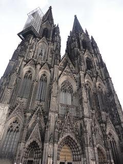 Foto da Catedral. Conhecendo um pouco de Colônia, Alemanha
