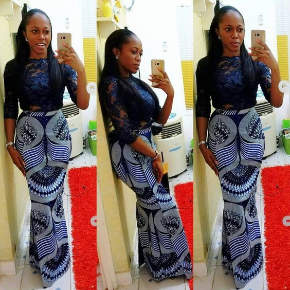 Check out these ravishing photo collection of 2019 fascinating ankara skirt and blouse