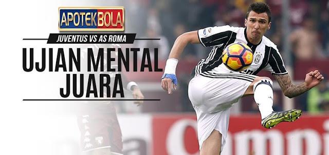Prediksi Pertandingan Juventus vs AS Roma 18 Desember 2016