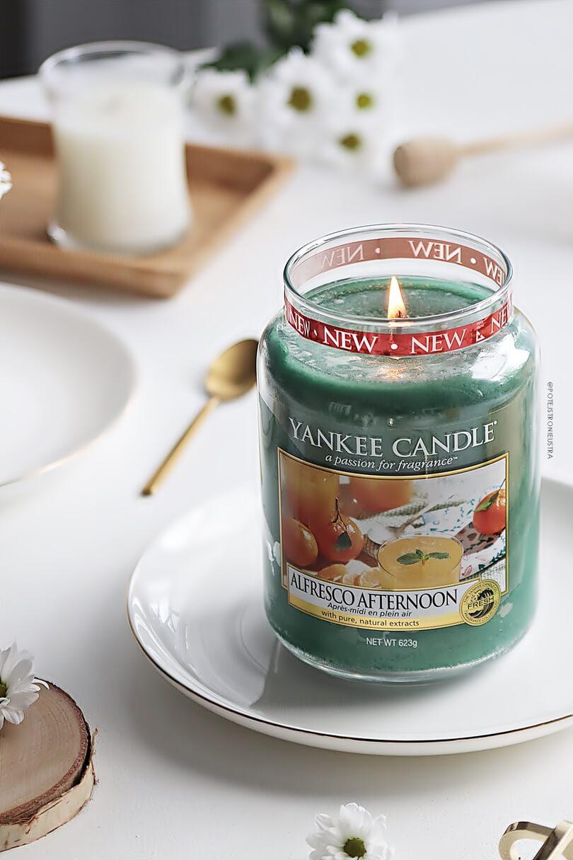 opinia o świecy yankee candle alfresco aftrenoon