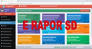 Aplikasi E Rapor SD Berbasis Web