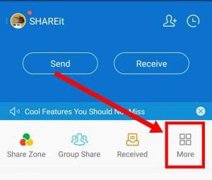 shareit with jio phone
