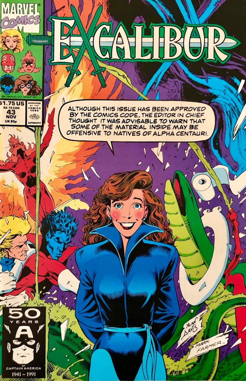 Excalibur #43 (1991)