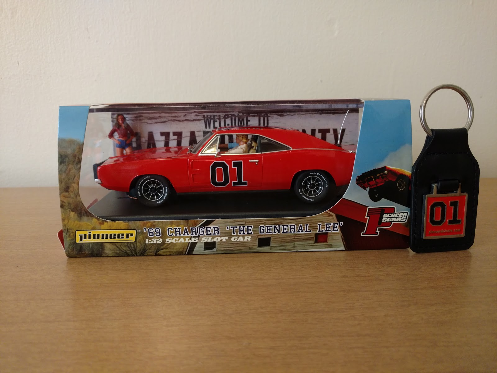 Dukes Of Hazzard Collector Pioneer Slot Car S Brand New General Lee