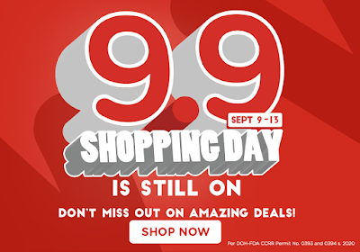 Watsons 9-9 Shopping Day Sale!