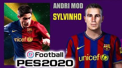 PES 2020 Faces Sylvinho by Andri Mod