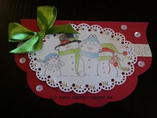 Weihnachtskarten von Silvi Provolija Unabh. Stampin' Up! Demonstratorin aus Jena Thüringen