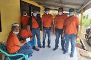 Semakin Solid, Keluarga Besar Pewarta Salurkan Bantuan untuk Iswandi Nasution