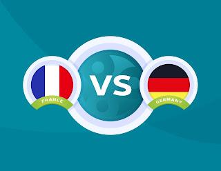 مواجهة قوية تجمع منتخب  فرنسا ضد المانيا في بطولة يورو 2020