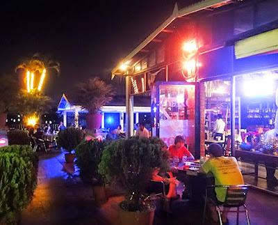 The Zero Zone restaurant and nightclub in Chinatown