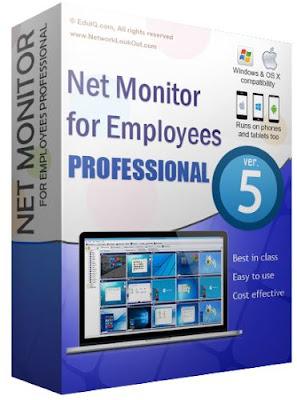 خطيرتحكم فى اجهزة  المتصلة بالشبكة5.4.6  &2017 Net Monitor for Employees Professional
