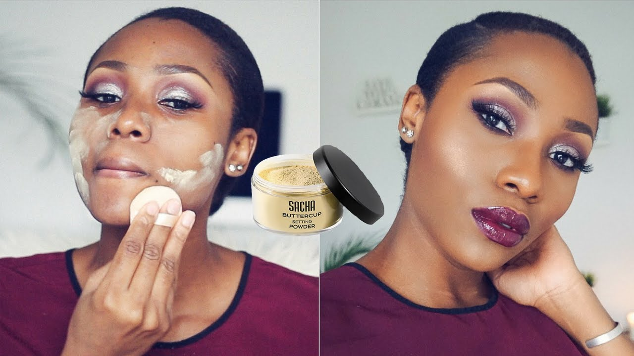 Dimma Umeh choosing the right foundation for her skin