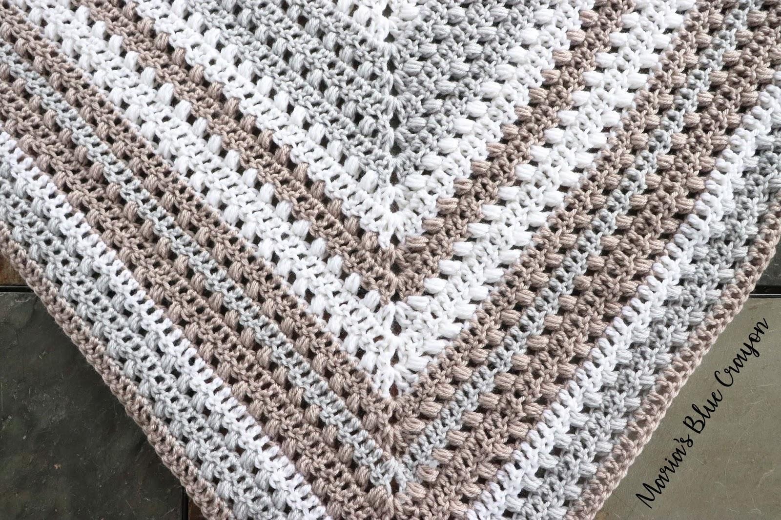 Crochet Triangle Scarf Free Crochet Pattern Marias Blue Crayon