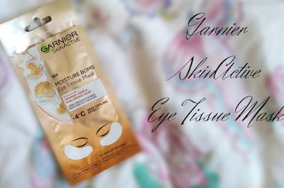 Eye Tissue Mask - Garnier SkinActive Moisture Bomb