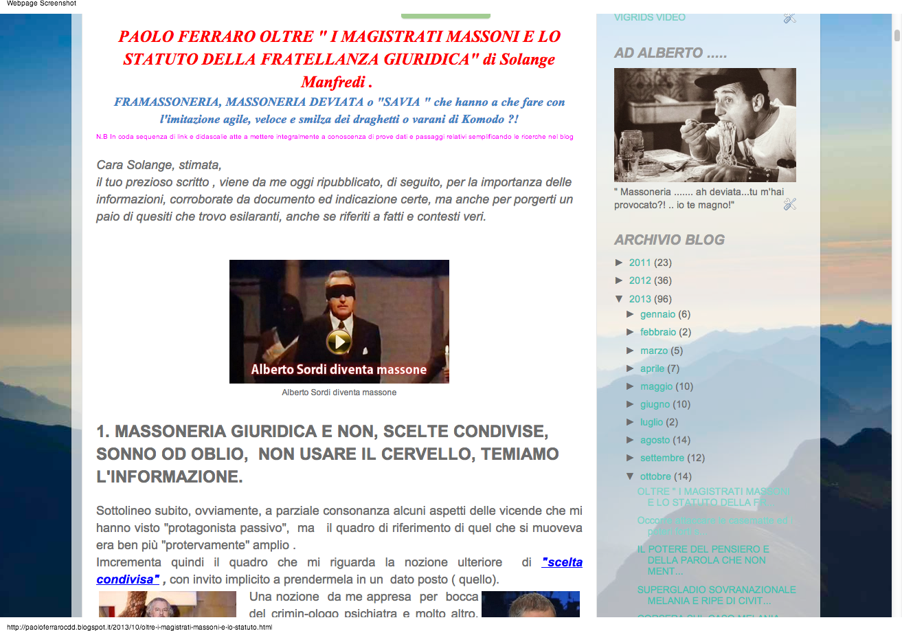 http://paoloferrarocdd.blogspot.it/2013/10/oltre-i-magistrati-massoni-e-lo-statuto.html