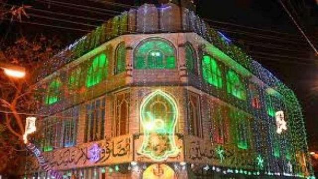 Eid Miladun Nabi in Karachi, Pakistan