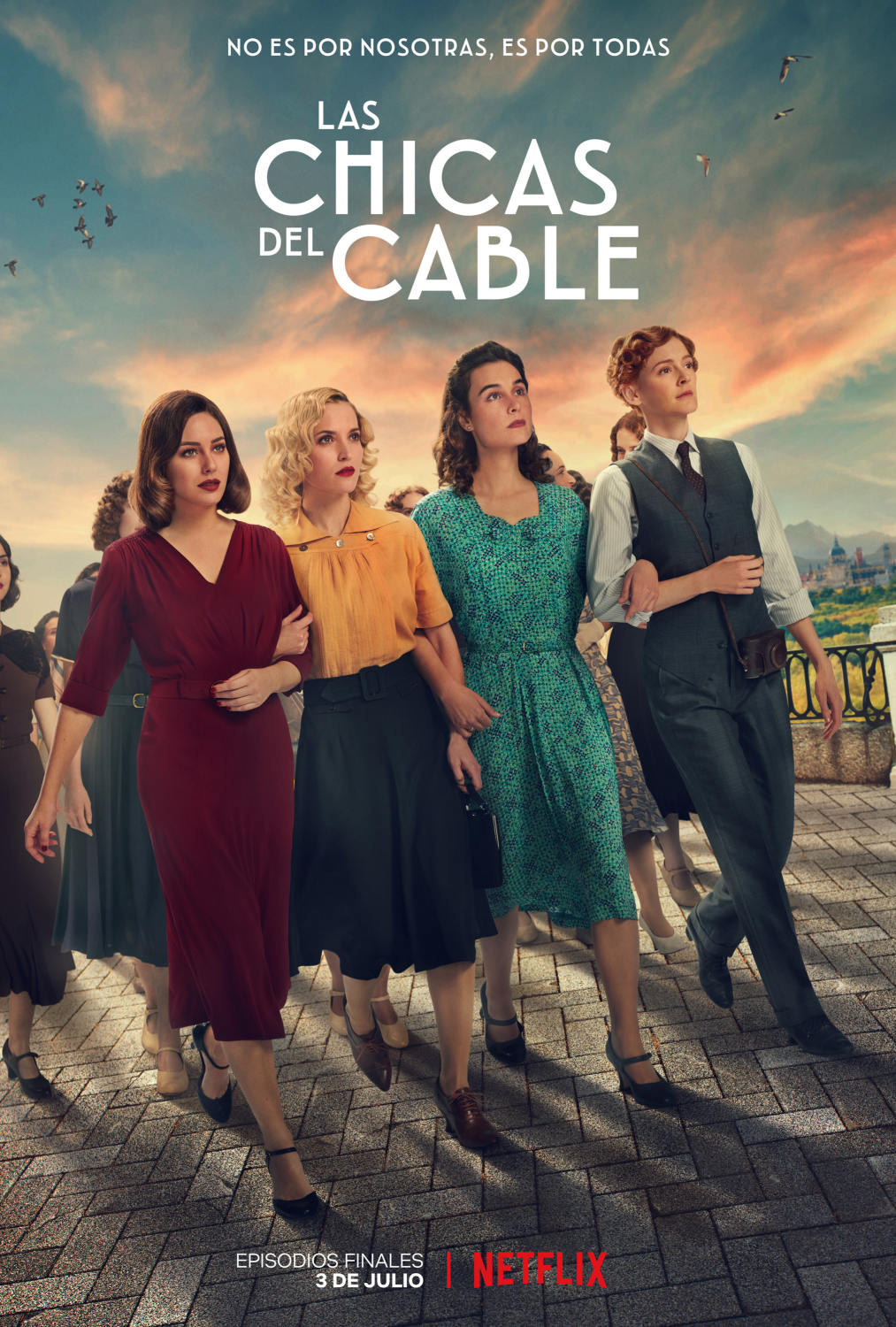Las chicas del cable Temporada 5 Castellano 720p