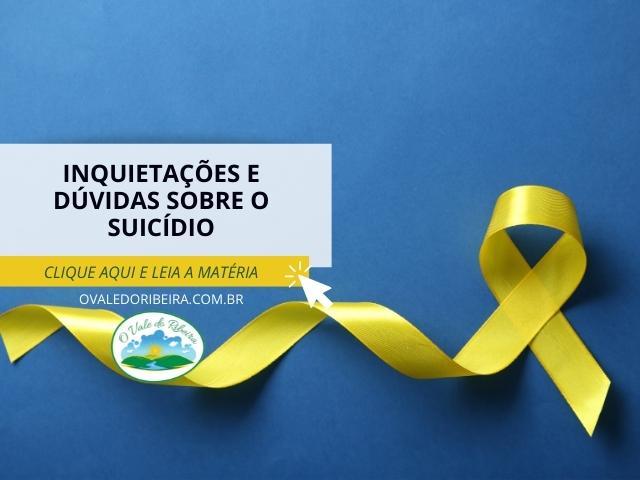 Inquietações e dúvidas sobre o suicídio