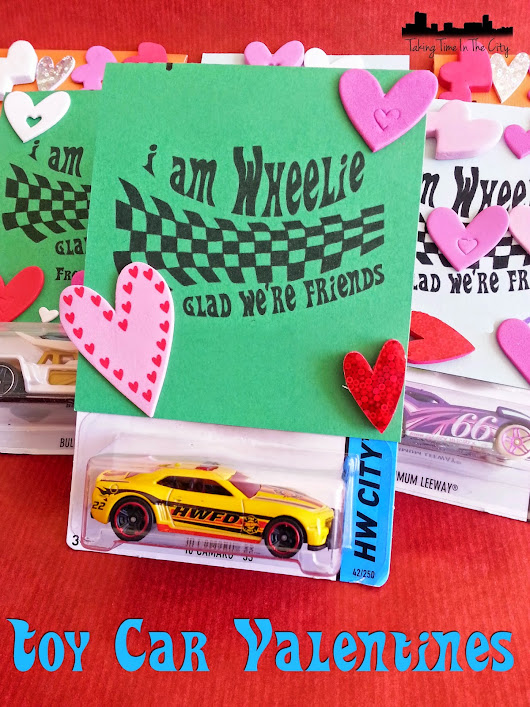 Fast and Easy Toy Car Valentine