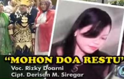 Tapsel Mandailing Rizki Doarni - Mohon Doa Restu