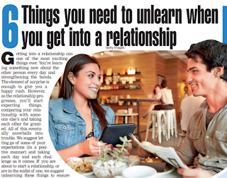 6 Things you need to unlearn when you get into a relationship