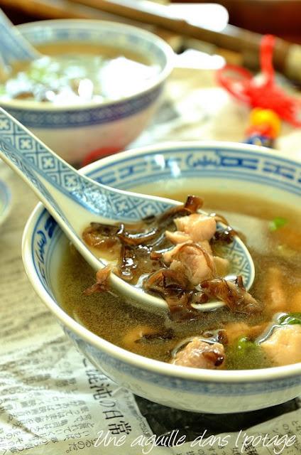 chinese-soup-chicken-mushroom-Ken Hom