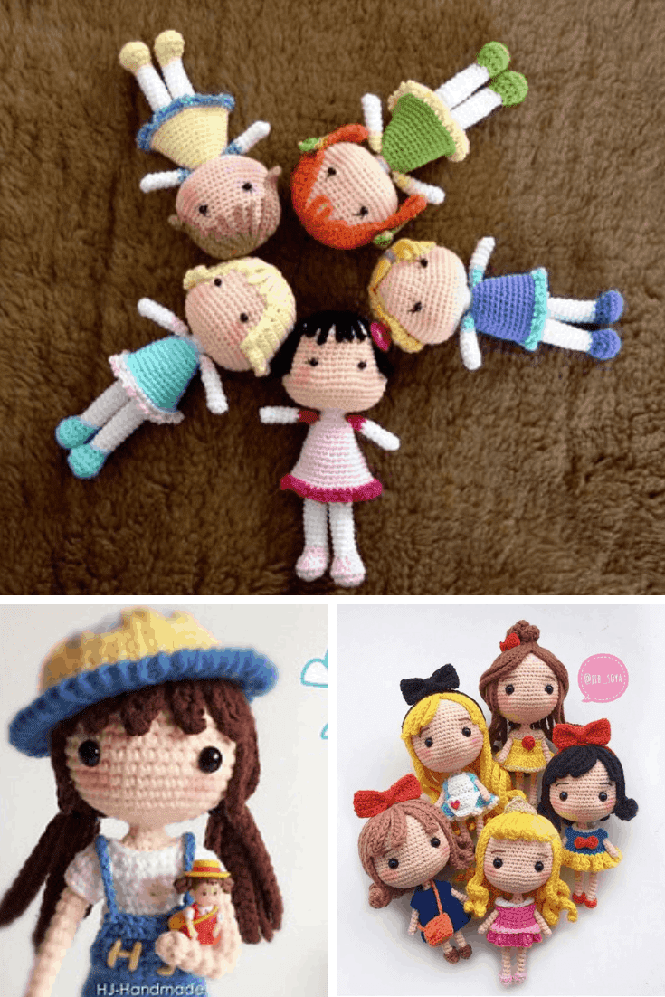 Crochet Amigurumi Dolls Ideas