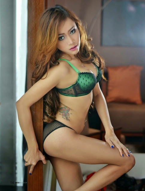 Hot Photo Dewi Purnama Sari for Gress Magazine