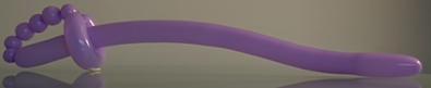Schwert aus einem Modellierballon.