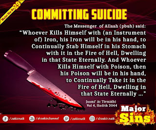 MAJOR SIN. 29.2. COMMITTING SUICIDE