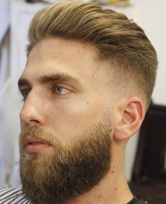 Model rambut potong pendek pria janggut kumis sambung 4