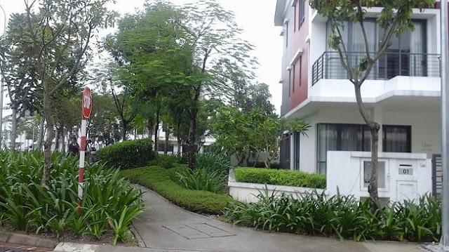 không gian của gamuda gardens