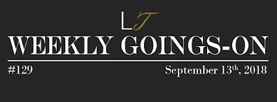 Weekly Goings-On #129 - Blackpool Hotels Newsletter - Blackpool Shows and Events September 14 to September 20