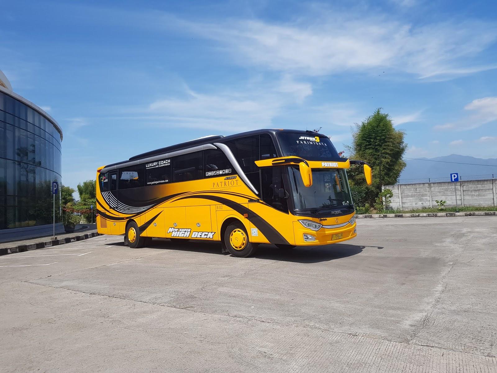 New Jetbus 3 Hdd Patriot Pariwisata Patriot Pariwisata