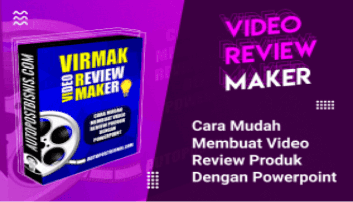 Virmak Video Review Maker