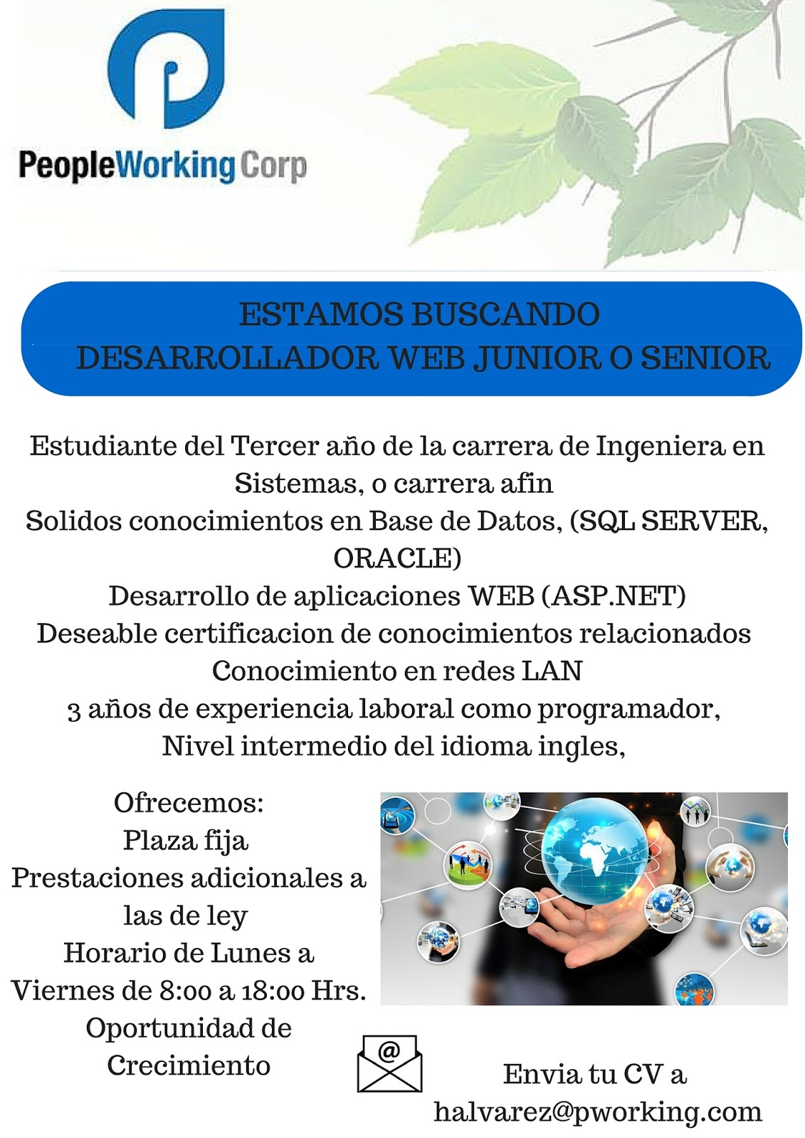 Guate Empleos IT: junio 2016
