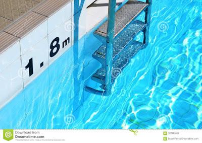 indication obligatoire de profondeur de piscine